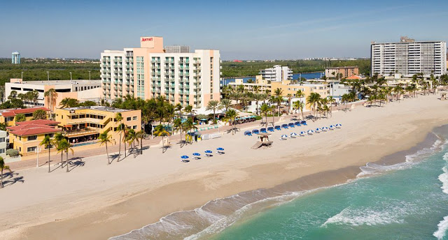 Playa Hollywood Beach en Miami