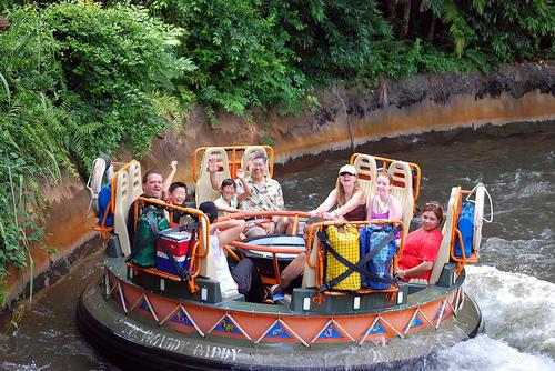 Kali River Rapids en el Animal Kingdom en Orlando