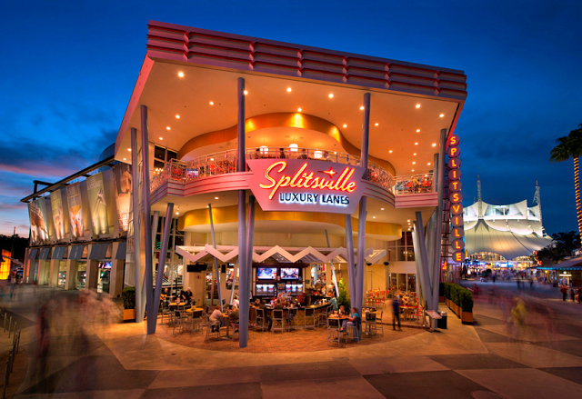 Splitsville Luxury Lanes en Disney