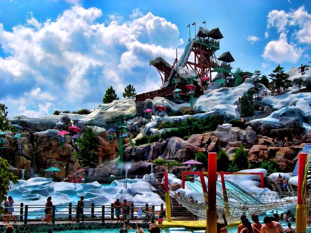 Parque Disney Blizzard Beach en Orlando
