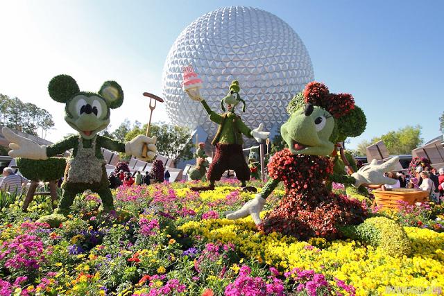Parque Epcot en Disney