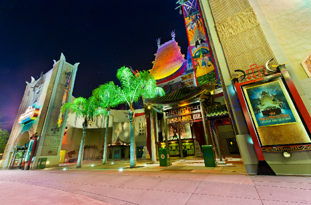 Atracción en Parque Disney´s Hollywood Studios en Orlando