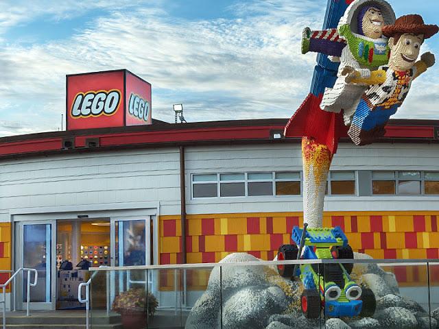 Tienda de Lego en Disney Springs en Orlando