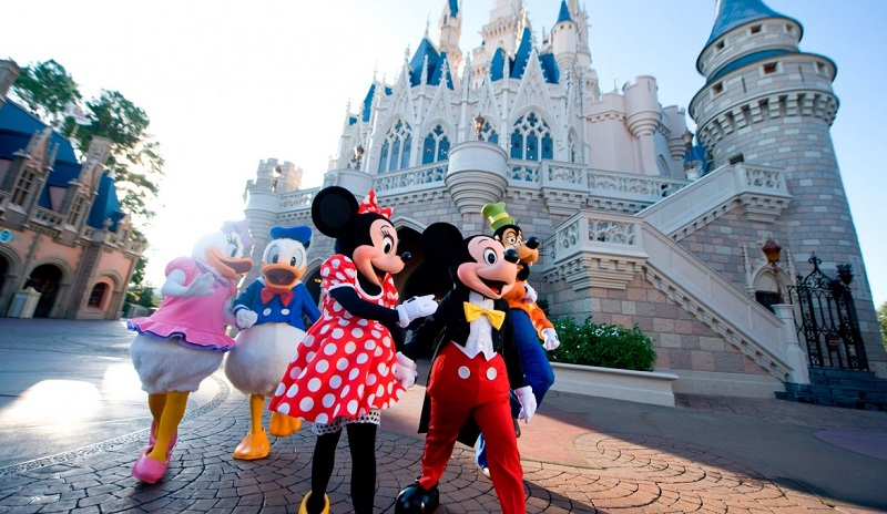Parque Magic Kingdom de Disney en Orlando