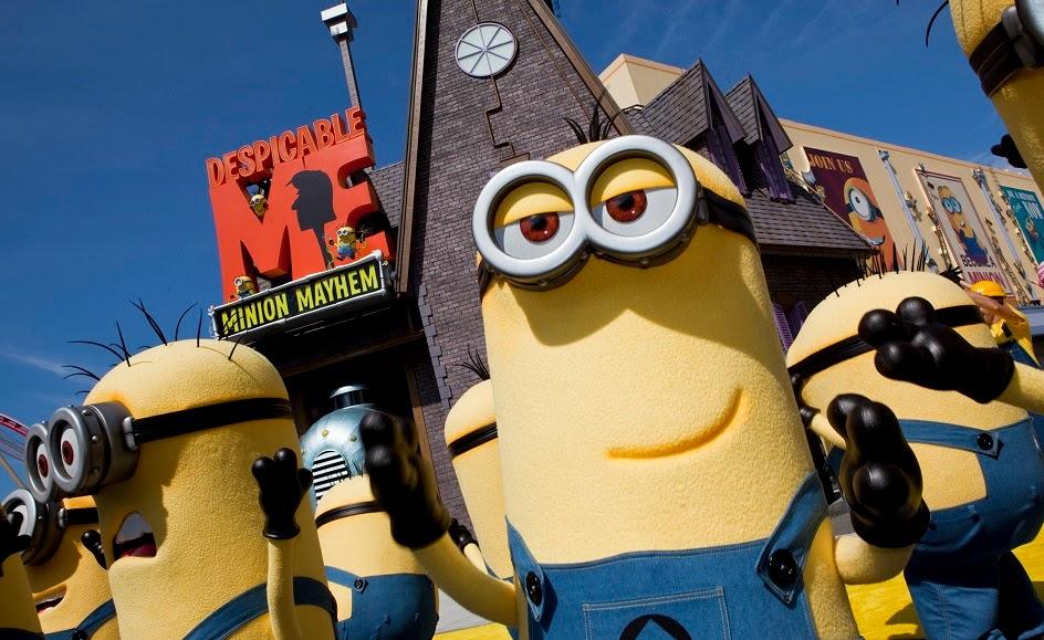 Juego de los Minions en Universal Studios en Orlando