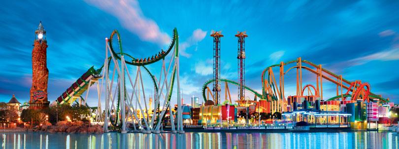 Parque Islands of Adventure en Orlando
