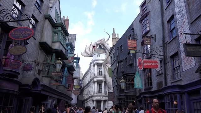 Diagon Alley de Harry Potter en Universal Studios