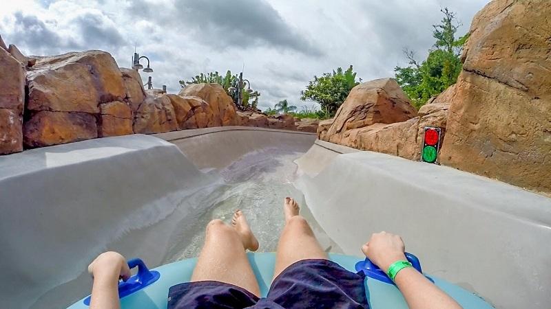 Keelhaul Falls en Parque Disney Typhoon Lagoon