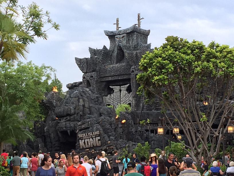 Juego de King Kong en Islands of Adventure