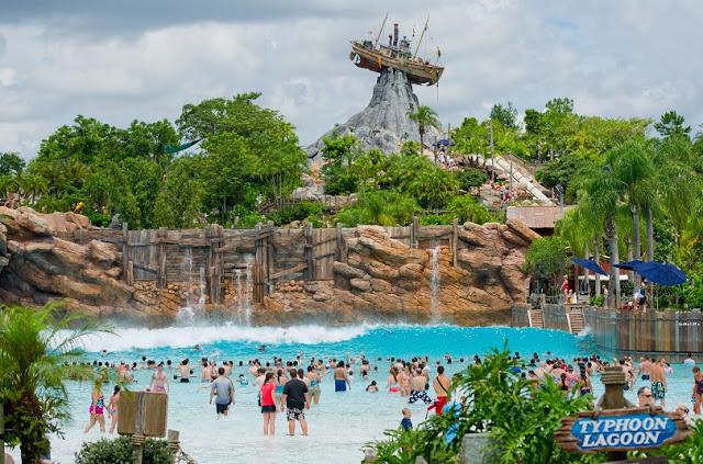 Parque acuático Typhoon Lagoon de Disney en Orlando