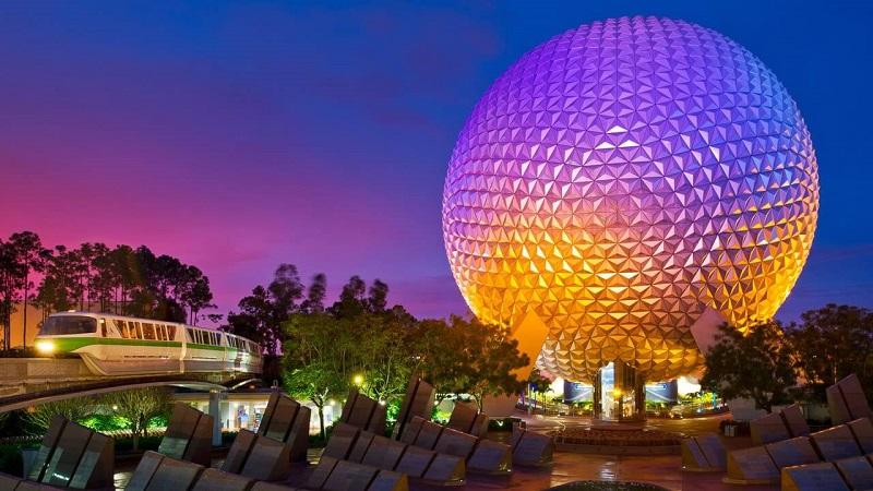 Parque Epcot en Disney Orlando