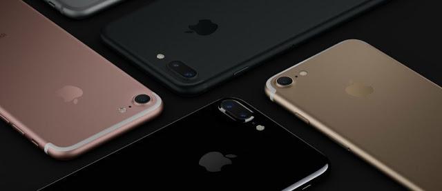Colores de iPhone 7 en USA