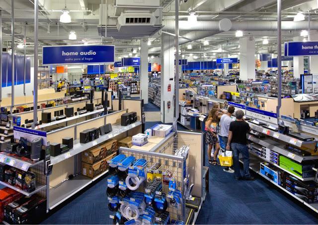 Tienda de productos electrónicos Best Buy