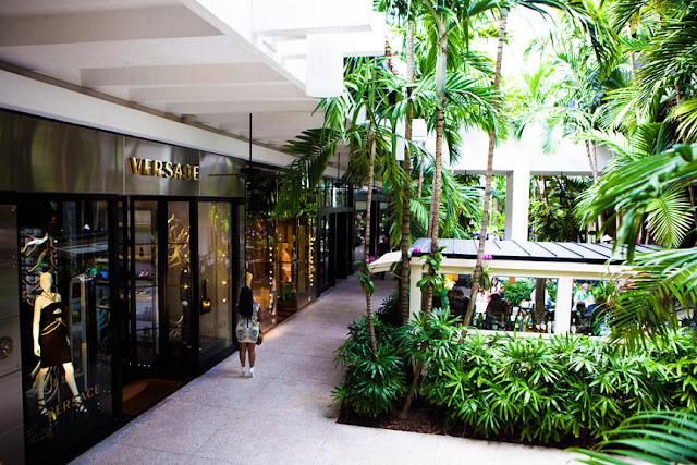 Tiendas de ropa de lujo en Miami