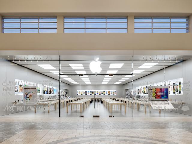 Shopping Florida Mall en Orlando: tienda de Apple