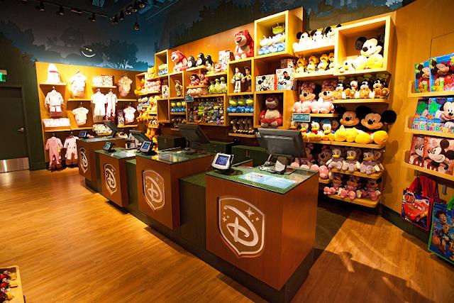 Shopping Florida Mall en Orlando: tienda de Disney