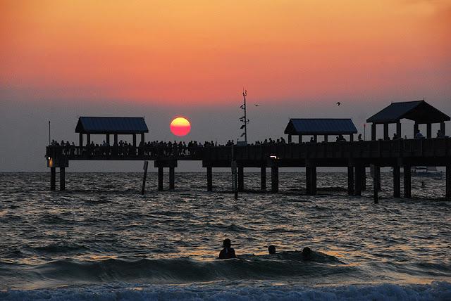 Playa de Clearwater en Florida