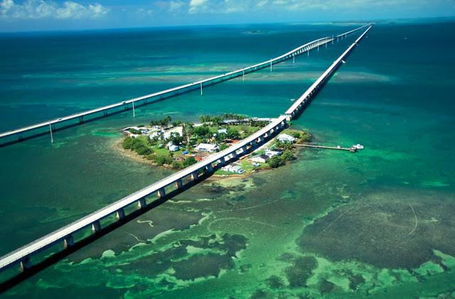 Playas de Key West en el sur de Florida