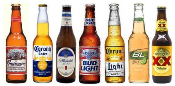 Cervezas: Bebidas alcohólicas en los Estados Unidos, Miami y Orlando