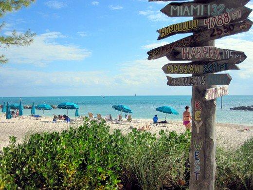 Playa en Key West - Mejores meses y épocas para ir a Miami