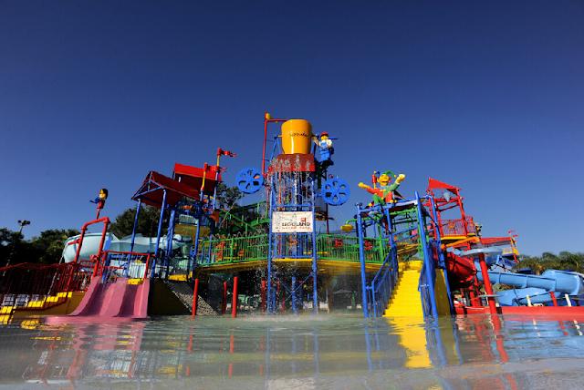 Joker Soaker en el parque acuático Legoland en Orlando