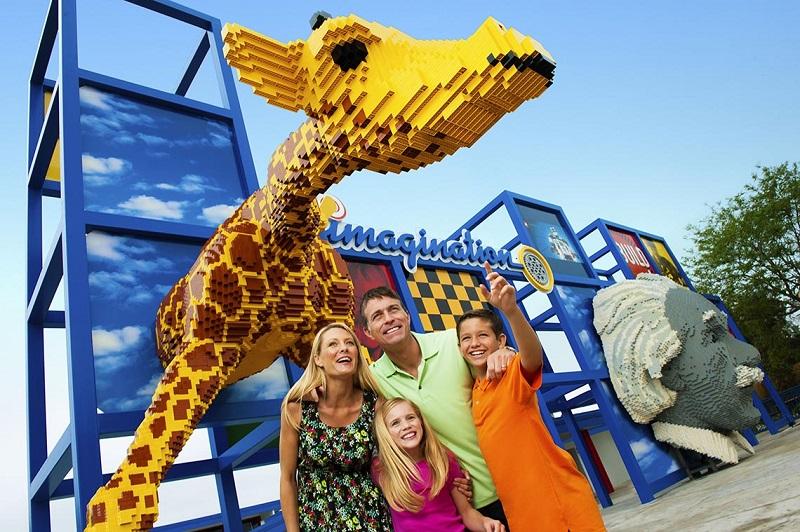 Parque de Lego Legoland en Orlando