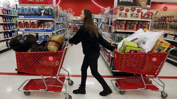 Compras en tienda de departamento y supermercado Target en Orlando