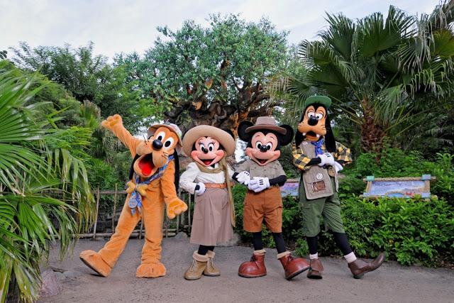 Personajens en Disney