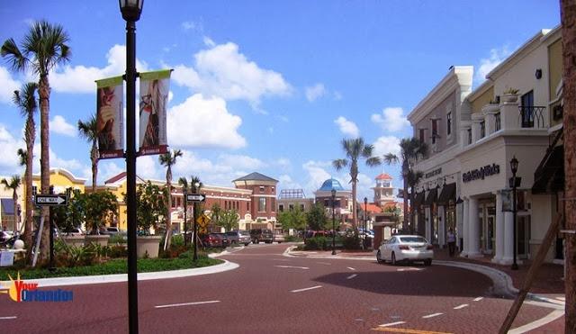 Cómo es el Shopping Winter Garden Village en Orlando