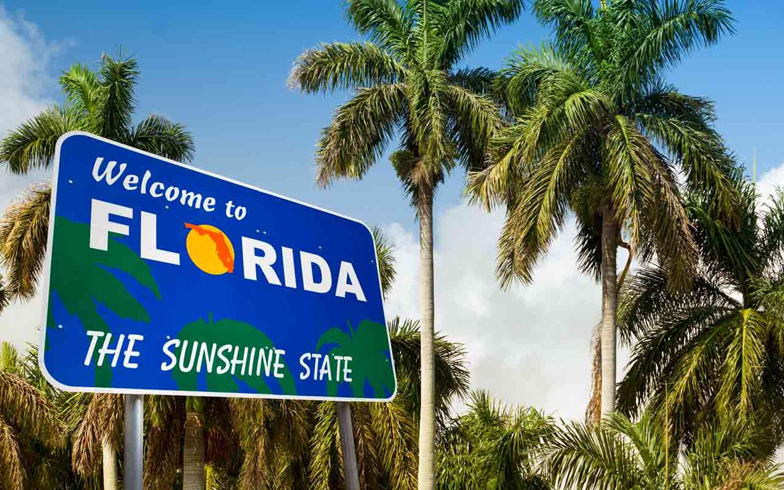 Mapa de Florida y ciudades