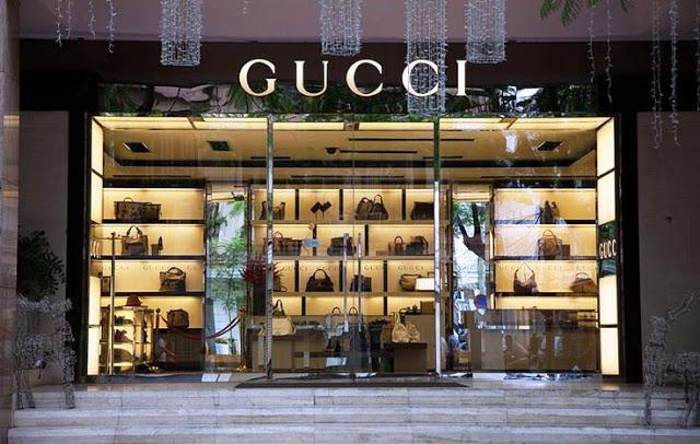 Tiendas Gucci en Orlando - escaparate