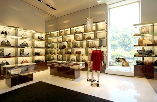 Tiendas Gucci en Orlando - interior