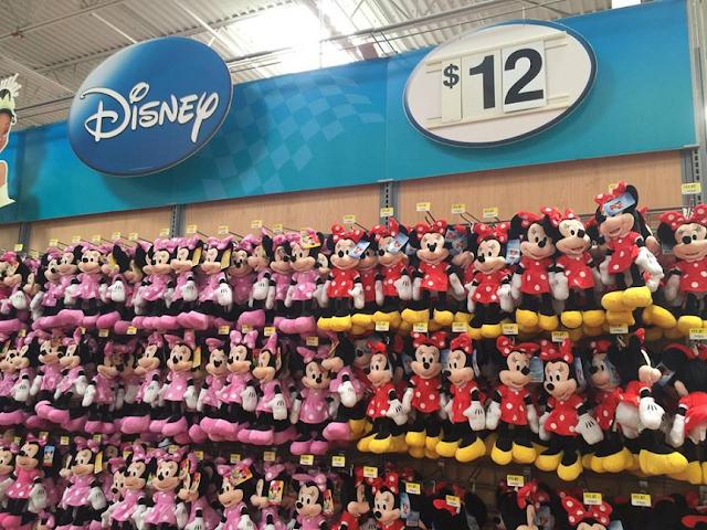 Supermercados en Orlando - juguetes de Disney