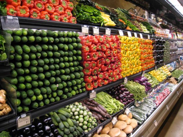 Supermercados en Miami - vegetales