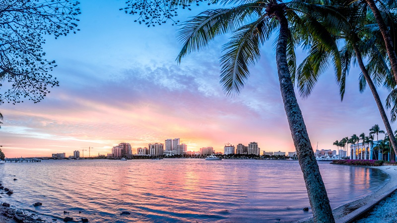 Palm Beach En Flórida Playas Compras