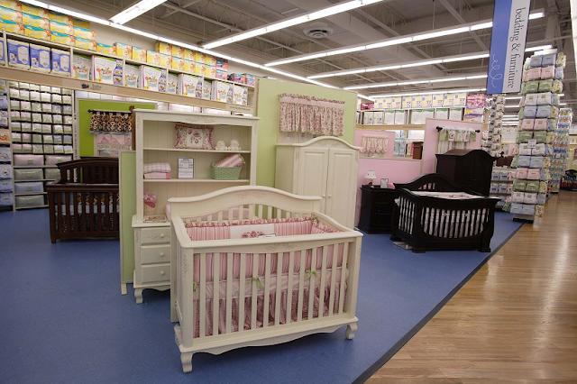 Cunas para comprar en tienda Buy Buy Baby en Miami