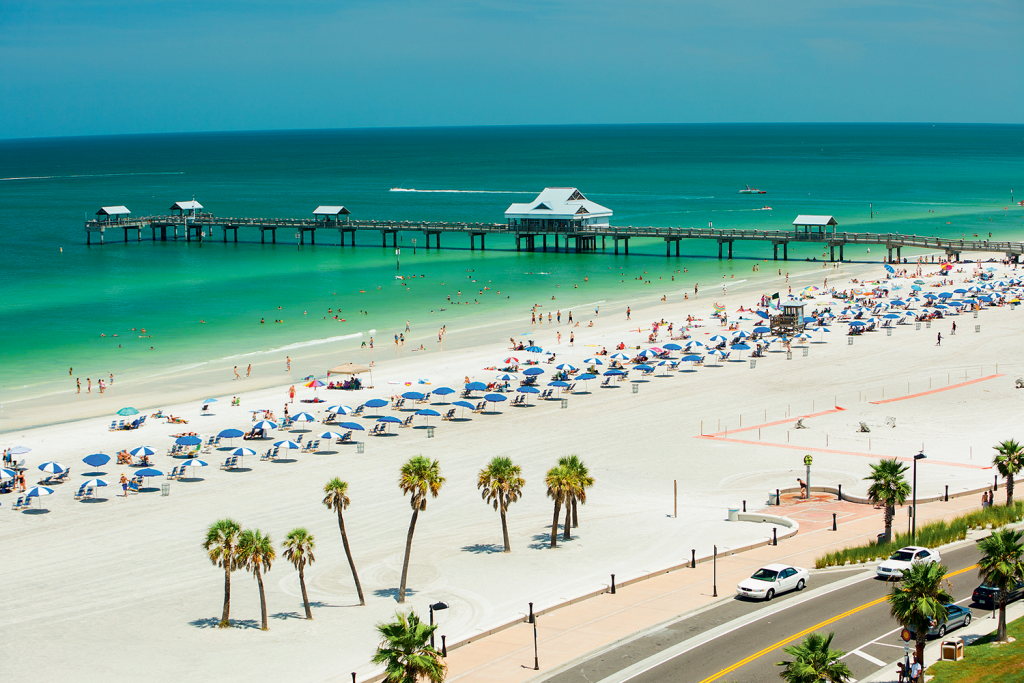 Clearwater en la Florida