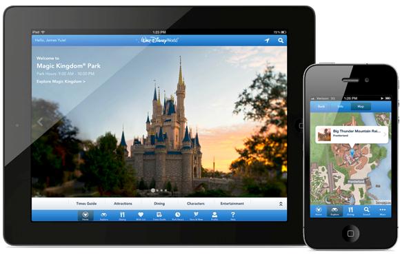 Aplicación de Disney World Orlando: My Disney Experience App