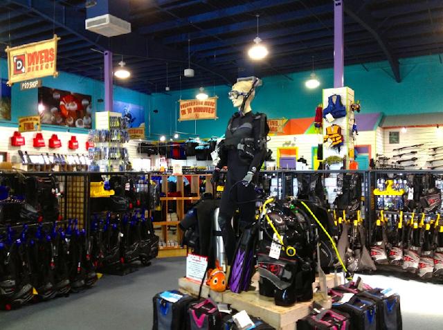 Divers Direct Outlet en International Drive en Orlando