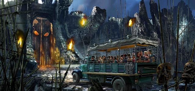 Skull Island atracción de Universal Orlando