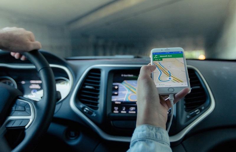 Usando el celular como GPS y ahorrando mucho en Miami